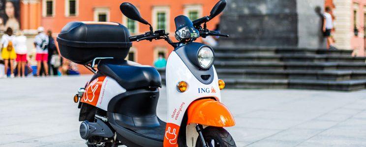 ING ogłasza współpracę z blinkee.city i uruchamia flotę pojazdów elektrycznych