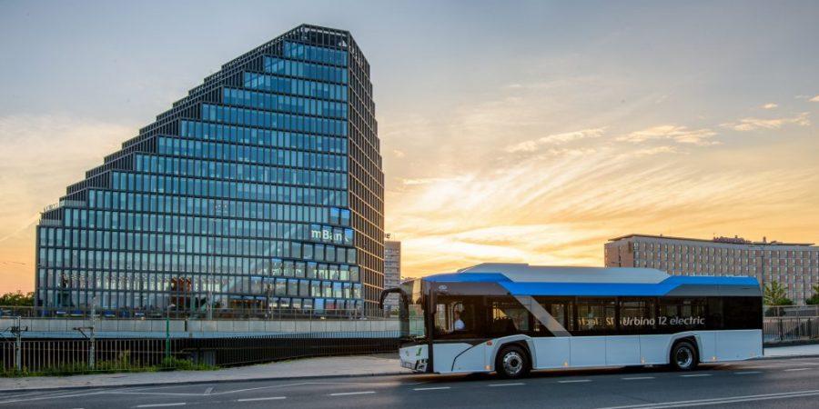 Solaris liderem europejskiego rynku autobusów elektrycznych