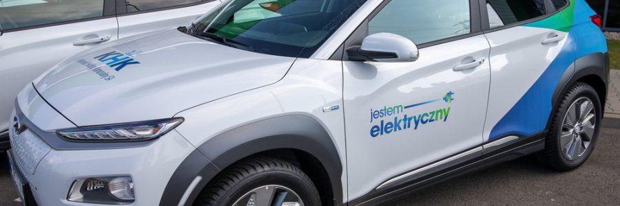Kraków pokazał że się da. Rekordowy zakup KHK S.A. samochodów elektrycznych!