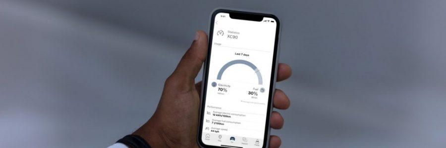 Aplikacja Volvo on Call – sprawdzisz m. in. swój wpływ na ślad węglowy